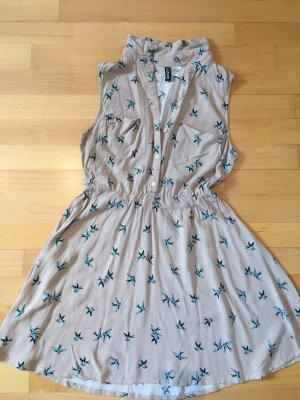 Kleid mit Schwalben von H&M