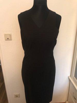 Kleid mit seitlichem Transparenz Ausschnitt