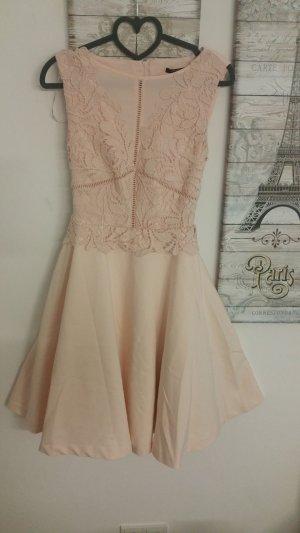 Orsay Midi Dress cream-pink