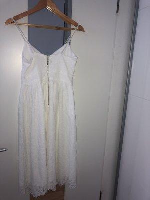 Amisu Midi-jurk wit