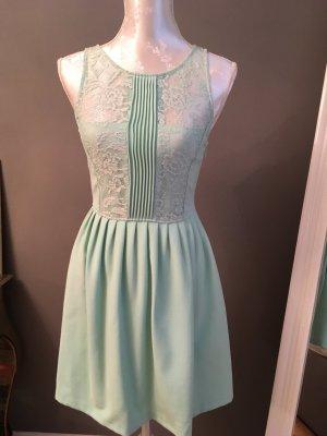 Zara Trafaluc A-lijn jurk turkoois