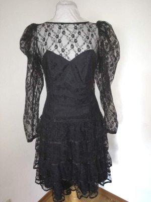 Kleid mit Spitze; Gothic, Gothik