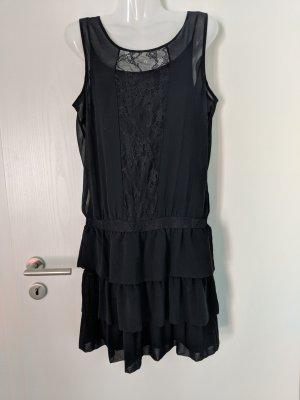Kleid mit Spitze im 20er Jahre Stil, Volants, Vila