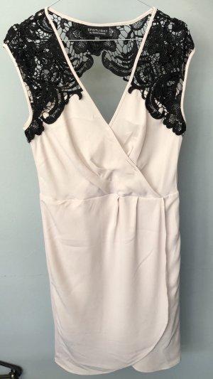 Kleid mit Spitze von Warehouse