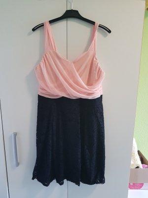 b.p.c. Bonprix Collection Lace Dress black-pink