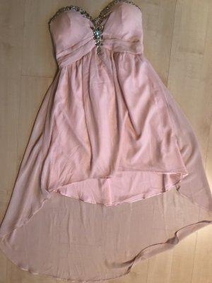 Kleid mit Steinstickerei