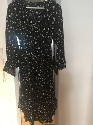 Italy Volante jurk zwart Polyester