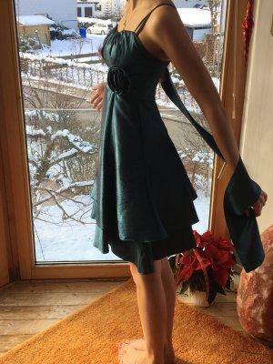 Kleid mit Stola, Größe XS