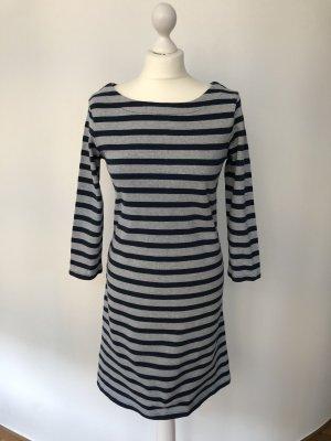Gap Sweat Dress grey-dark blue cotton