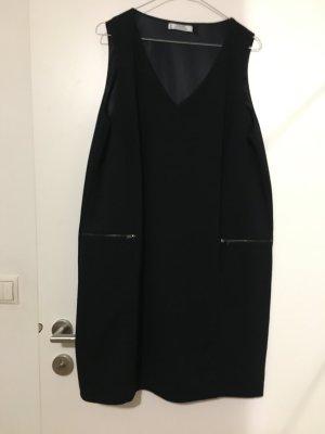 Kleid mit Taschen dunkelblau