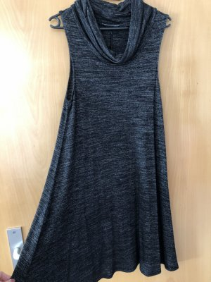 Mango Knitted Dress grey-black