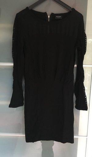 Kleid mit transparenten Netzeinsatz