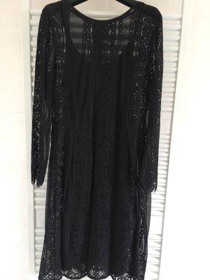 Kleid Mit Unterkleid Gr 40