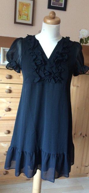 Kleid mit V-Auschnitt