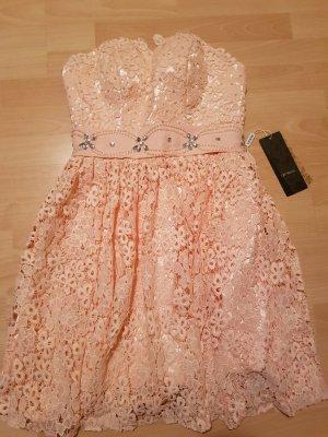 IZIDRESS Vestido de baile rosa-rosa claro