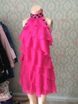 Tally Weijl Flounce Dress magenta
