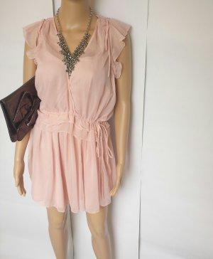 Kleid mit Volant und Rüschen Mango Gr.M 38/40