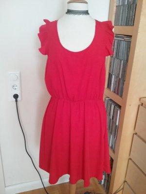 Kleid mit Volantärmeln in Gr.L