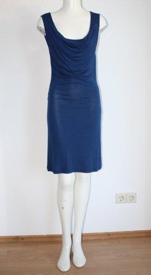 Kleid mit Wasserfallausschnitt von Zalando (Gr. S)