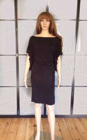 Soaked in luxury Vestido elástico negro