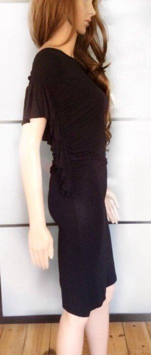 Kleid mit weiten Rüschenärmeln