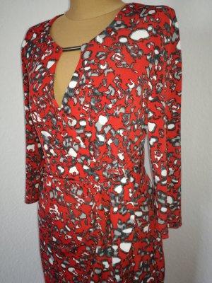 Kleid mit Wickeleffekt von S Oliver Selection
