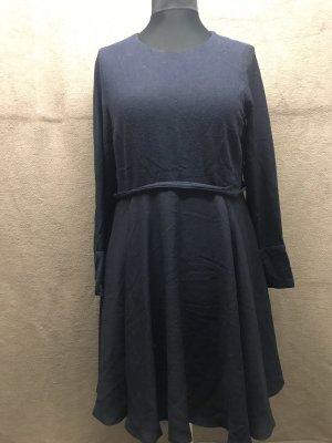 Kleid mit Wolleinsatz