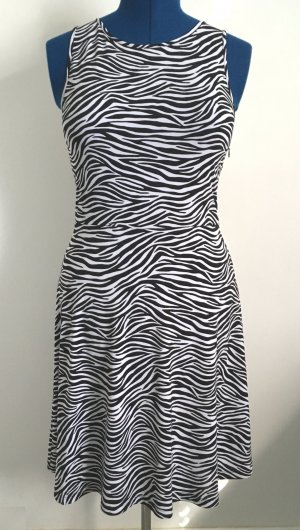 Michael Kors Stretch Dress white-black polyester