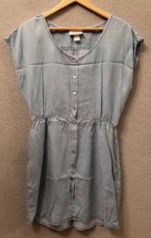 Kleid Monki Jeans hellblau