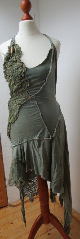 Kleid, Neckholder Dress, Goa, Hippie, Longshirt S