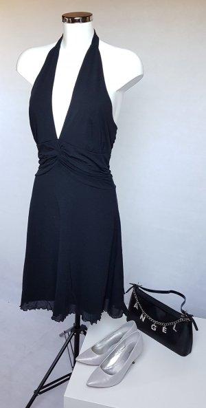 Kleid Neckholder mister*lady in Schwarz Gr. M