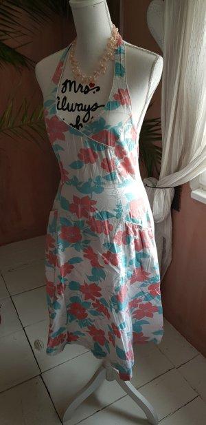 H&M Vestido de cuello Halter multicolor Algodón