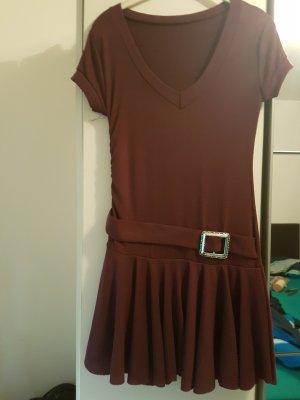 Vestido estilo camisa multicolor