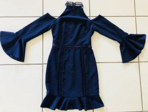 Kleid Neu Navy blau Gr. 38