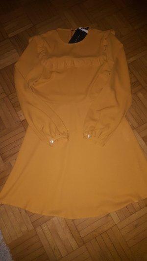 Kleid #NEU# Zara currygelb