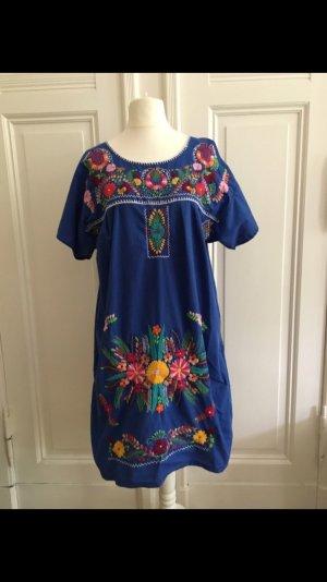 Kleid Oaxaca Puebla México Vintage Coachella Stickerei boho