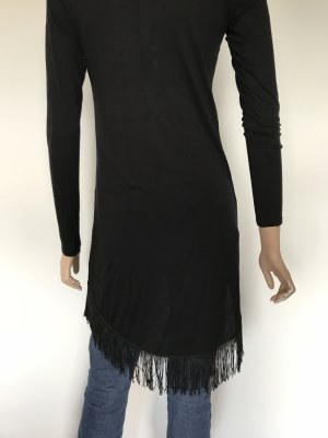 Amisu Fringed Dress black