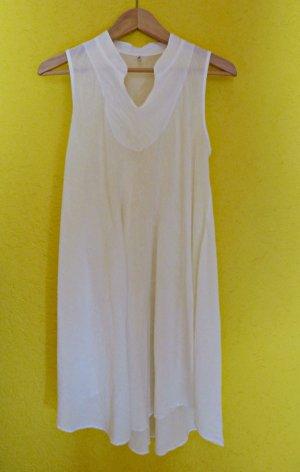 Kleid oder Tunika mit nach hinten abfallendem  Saum