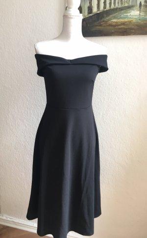 H&M Abito senza spalle nero