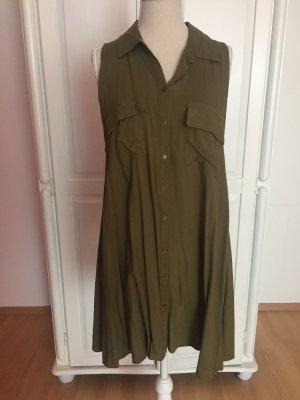 Kleid ohne Ärmel Army Militär khaki
