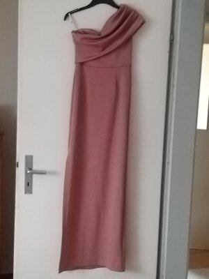 Asos One Shoulder Dress mauve