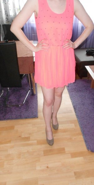 Kleid Only neon pink Gr.40