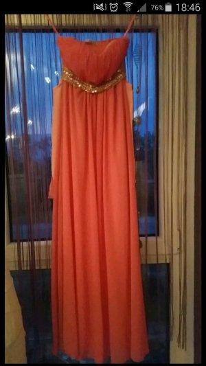 Kleid Orange/Apricot
