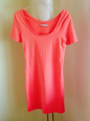 Kleid orange Gr. 36 neuwertig!