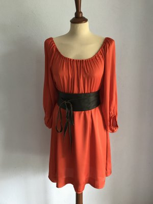 Kleid Orange H&M Gr. S / 36