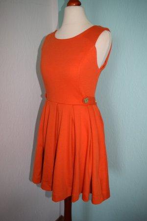 Kleid orange XS 34 H&M Blogger Style Kleid