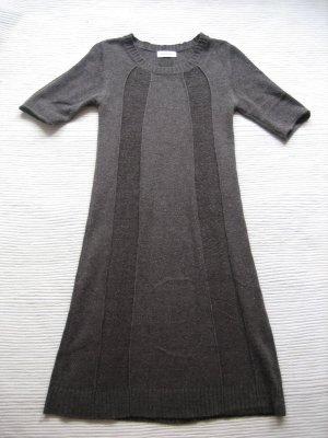 kleid orsay strickkleid gr. xs 34 braun