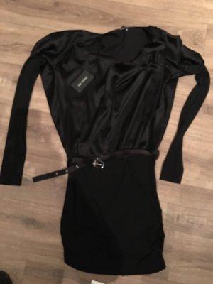 Patricia Pepe Vestido camisero negro