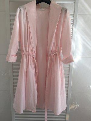 Paule ka Geklede jurk rosé Katoen