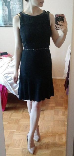Kleid Pennyblack Gr. 36 S schwarz Etui Etuikleid Mesh Business Cocktail büro